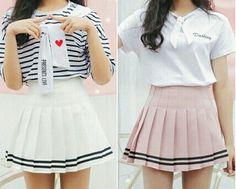 Cheer Skirts, Skater Skirt, Wattpad, Romance, Fashion, Everything Everything, Korean Clothes, Girls, Moda