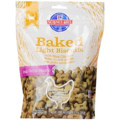 Hill's Science Diet Baked Light Biscuits with Real Chicken Small Dog Treats, 9-Ounce Pouch @@@ The details can be found by clicking on the image. (This is an affiliate link and I receive a commission for the sales)