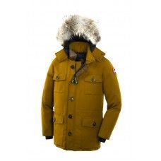 Canada Goose Banff Parka for Mens in Yellow