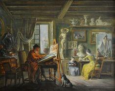 «L'Atelier du peintre»