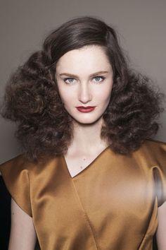 Fall 2013 Hair Trend Report: Va-Va-Volume - Bottega Veneta
