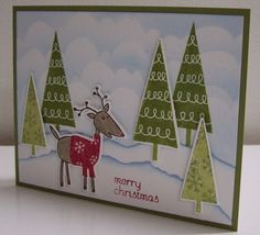 Holiday Cheer - WT348, F4A85 by Loll Thompson - Cards and Paper Crafts at Splitcoaststampers