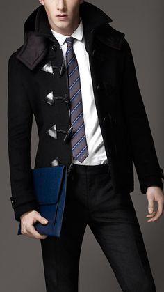 Duffle Coat for Men - Men's Winter Coat Styles - He Spoke Style ...