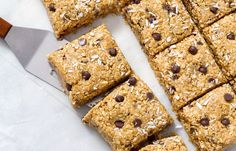 No Bake Energy Bars with Oat Peanut Butter Chocolate