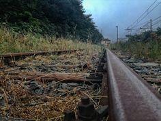 Nice tracks! #tracks #track #train #station #rome
