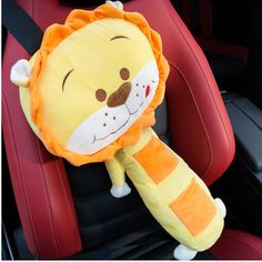 Car Interior New Soft Children Car Seat Belts Pillow Car Seat Cover Protection…