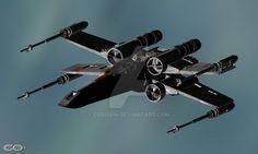12 Star Wars - XWing by cosovin on DeviantArt