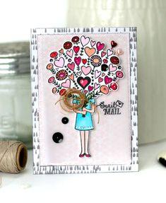 Valentine Heart Bouq