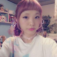めるも @xx_merumo_xx 髪色をピンク紫に...Instagram photo | Websta (Webstagram)