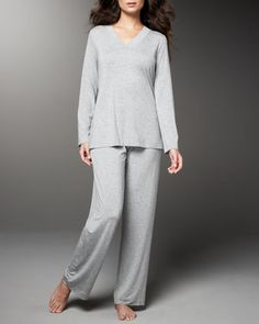 Champagne Pajamas by Hanro at Neiman Marcus.