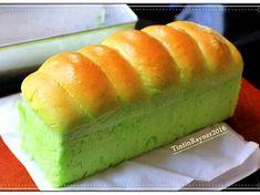 Killer Toast Pandan Super Soft+Quick Proofing cuma x recipe step 5 photo Roti Bread, Bread Bun, Bread Cake, Donut Recipes, Bread Recipes, Baking Recipes, Cake Recipes, Soft Bread Recipe, Pandan Cake