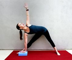 Yoga+for+the+Knees+Triangle+Pose