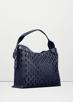 Bolso diseño troquelado - Bolsos de Mujer | MNG Colombia