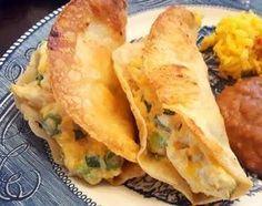 Cream Cheese Chicken Tacos #Garlic #cheese #cream-cheese #creamy #taco #cheddar #tacos #rotisserie #green-onion #chicken #Corn Tortilla #justapinchrecipes