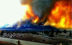 Colorado Fires and social media