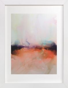 Abstract Lands Series : Fields 4 by V E R Y M A R T A at minted.com