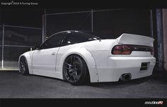 Nissan 200 SX  S13 HECKSPOILER ROCKET BUNNY DRIFT HECKSPOILER