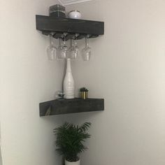 Nico Amato added a photo of their purchase Rustic Shelves, Rustic Wood, Rustic Bar, Wood, Shelves, Decorating Bookshelves, Wood Rack, Wall, Wood Wine Racks