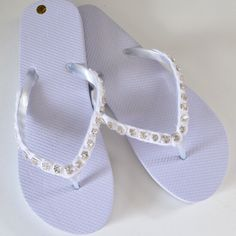 1ae7d781bbf42 37 Best Bedazzled Flip Flops images