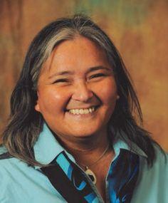 Elisapee Sheutiapik was president of Canada's national Inuit women's organization, Pauktuutit.