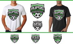 Create an eye catching soccer training logo that can be used on either a white or black t-shirt by JK Graphix