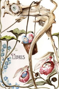 Doris Downes, Ex Libris 1