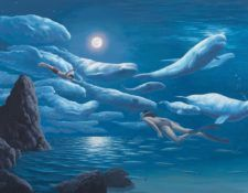 Rob Gonsalves-The Union of Sea and Sky