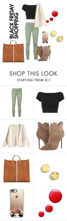 """""""🛒"""" by mortimer03 ❤ liked on Polyvore featuring Joe's Jeans, Helmut Lang, Burberry, Clare V., Kenneth Cole, Casetify and Topshop"""