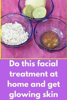 Do this facial treatment at home and get glowing skin You can do an all natural facial at home in just 10 minutes, I will tell you how you can do this facial and get Instant Glowing and Fresh Looking Skin. Check out below! 1: The first step is to make a face scrub. Take 2 tbsp each of oats, lemon juice and honey in a …