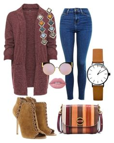 """""""Fall 2016"""" by susan-denton on Polyvore featuring Topshop, WearAll, Michael Kors, Tory Burch, DANNIJO, Fendi and Lime Crime"""