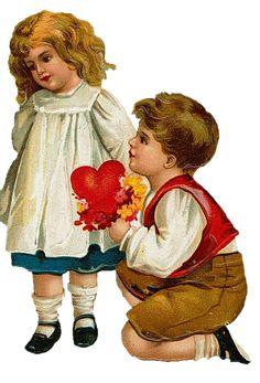 Sweetly Scrapped: Vintage Valentines
