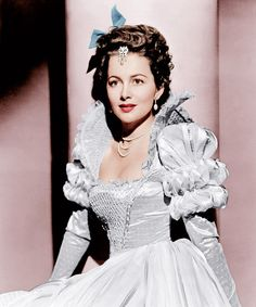 "Olivia de Havilland, "" THE PRIVATE LIVES OF ELIZABETH AND ESSEX "", 1939"