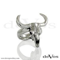 Skull (Bull Skull) Ring