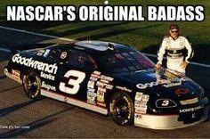 NASCAR'S ORIGINAL BADASS. #DaleEarnhardtArt http://www.pinterest.com/jr88rules/dale-earnhardt-art/