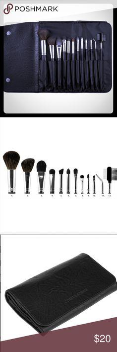 12pc Professional Makeup Brush Set Brand new in box. COASTAL SCENTS Sephora Makeup