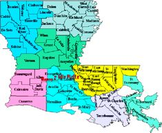 10. Referring to a Parish… when you're outside of Louisiana.