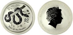 2013 One Ounce Silver Snake - MintProducts.com