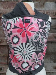 Baby SlingORGANIC COTTON Baby Wrap Sling CarrierPink by loveyduds, $50.00