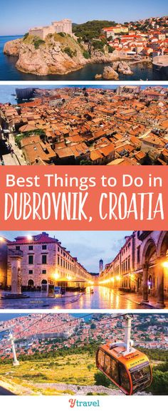 The Best Things to Do in Dubrovnik, Croatia. What to see and do, tours, where to stay in Dubrovnik and much more. See blog post for these Croatia travel tips.  #Europe #Dubrovnik #travel #traveltips