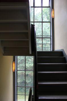 staircase, Meisterhäuser, Bauhaus, Dessau