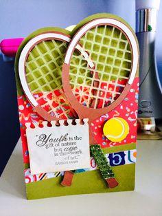 A Techy Teacher with a Cricut- Tennis Racket Card