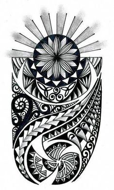 tongan tribal drawings polynesian tribal design with celtic - tribal tattoo sketch Maori Leg Tattoo, Celtic Tribal Tattoos, Samoan Tattoo, Forearm Tattoos, Buddha Tattoos, Thai Tattoo, Tongan Tattoo, African Tribal Tattoos, Waist Tattoos