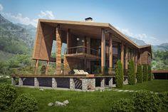 Dwelling house in Montenegro on Behance