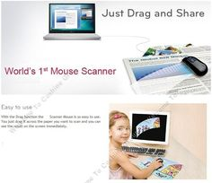 Free Size Scan: Scan any document up to A3. Optical Character Recognition (OCR): Scanned documents can be converted to a text file and edited in MS Office. Real-time sharing: Scanned files can be sent as e-mails, SNS(Facebook, Twitter, Flickr), and via smartphones. High Resolution: Up to 400...