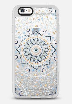 Summer Nights Mandala on Clear iPhone 6 case by Laurel Mae | Casetify