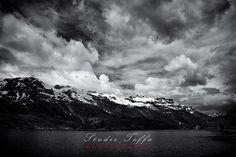 Sørfjorden Monochrome, Clouds, Landscape, Studio, Photography, Outdoor, Outdoors, Scenery, Photograph