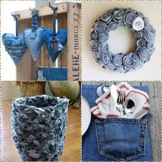 Let's continue to submit crafts from denim   PicturesCrafts.com