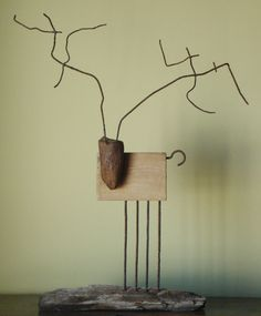 "Saatchi Online Artist: Oriol Cabrero; Mixed Media, Sculpture ""deer"""