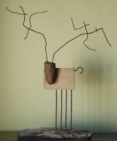 """Saatchi Online Artist: Oriol Cabrero; Mixed Media, Sculpture """"deer"""""""