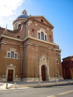 Reggio Emilia: Basilica della Ghiara by isotgiu, via Flickr